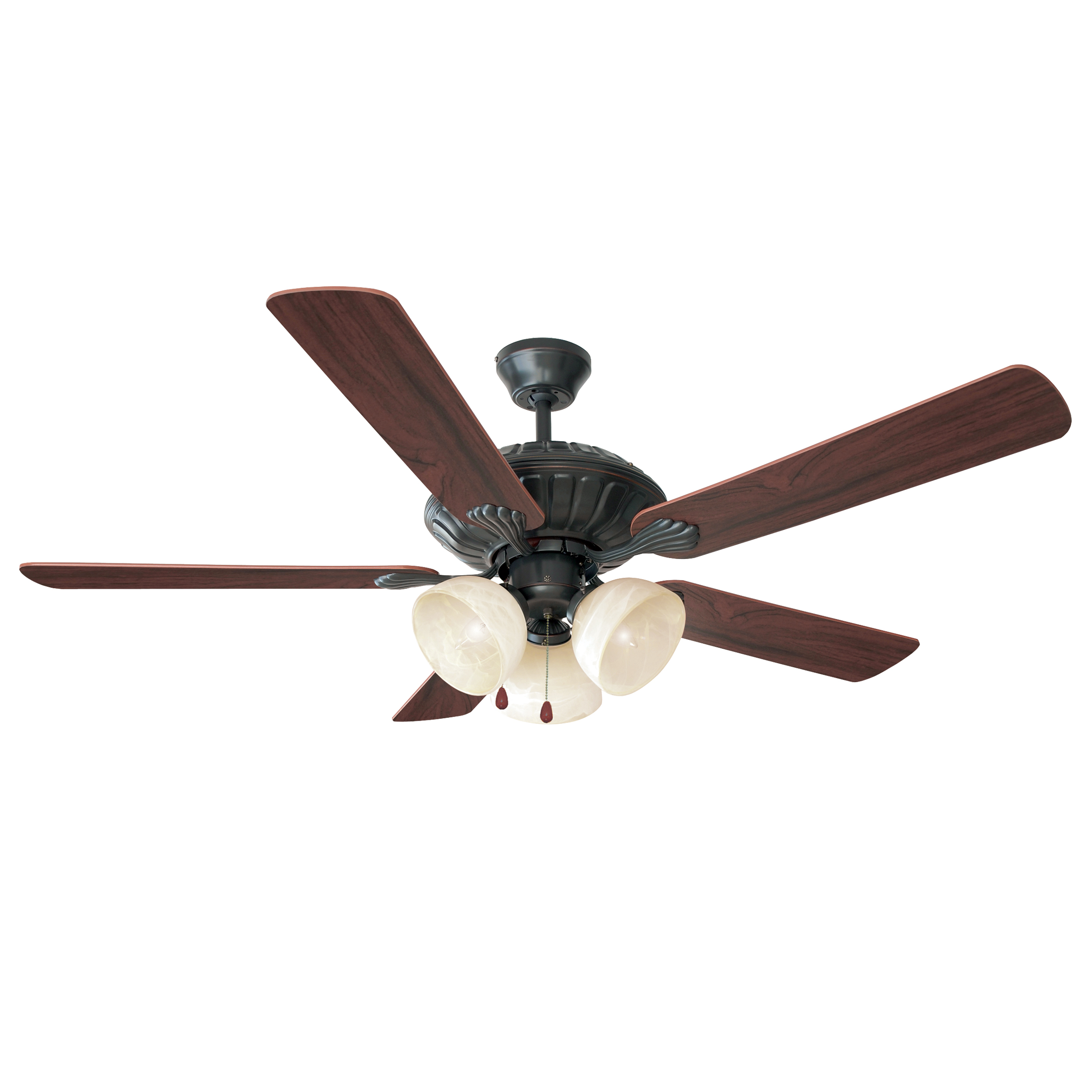 "Trevie 52"" Ceiling Fan 3 Light Ceiling Fans"
