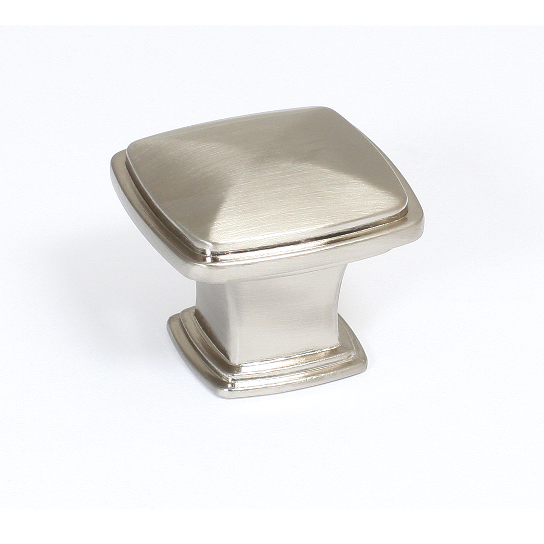 Good Park Avenue Cabinet Knob, Satin Nickel #203323