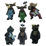 Bear & Moose Pot Sitters