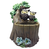 "12.24"" Owls on Branch Planter, #304592"