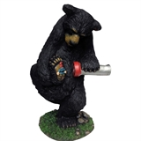 Bear With Gnome & Solar Light