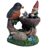 Bird Feeding Gnome