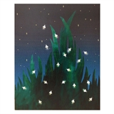 Firefly Lit Canvas