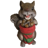 "5.9"" Squirrel Holding Stocking #317461"