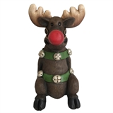 "17.8"" LED Moose With Red Nose #318972"