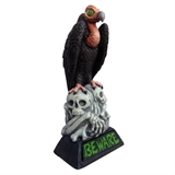 "28.25"" LED Beware Light-Up Vulture #319665"