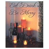 """Be Merry"" Lit Canvas 18x24 Wall Decoration #319756"