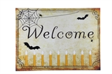 """Welcome"" Halloween Lit Canvas 18x24 Wall Decoration"