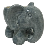 "5"" Grey Ceramic Elephant Planter #320879"