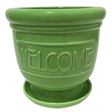 "7"" Welcome Planter #321877"