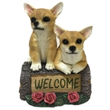 "10"" Chihuahuas On Welcome Log #322552"