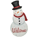 "19.5"" Metal Snowman Wall Hanging #324251"