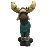 "12.5"" LED Moose Wearing Sweater #324434"