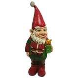 "23"" LED Gnome Drinking Cocoa #326041"