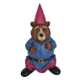 "14"" Bear In Gnome Clothing #327346"