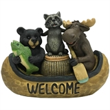 "10"" Animals in Canoe #330308"