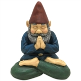 "10"" Yoga Gnome In Garland Pose #330407"