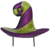 "8.5"" Pumpkin Witch Hat #436840"