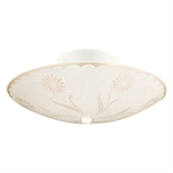 "2-Light 12"" Round Ceiling Light"