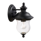 Highland Outdoor Down Light, Black #502906