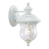 Highland Outdoor Down Light, White #503839
