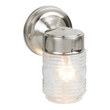 Jelly Jar Outdoor Down Light