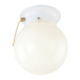 1-Light Chain Ceiling Mount