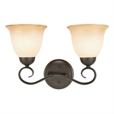 Cameron 2-Light Wall Mount, Oil Rubbed Bronze #512640