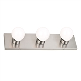 Strip Light 3-Light, Satin Nickel #519280