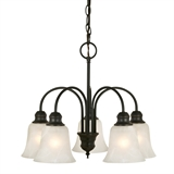 Ridgeway 5-Light Chandelier, Oil Rubbed Bronze #519322