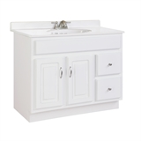 Concord 36X18 2-Door, 2-Drawer Vanity