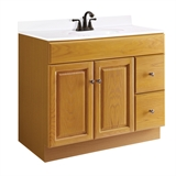 Claremont 36X21 2-Door, 2-Drawer Vanity