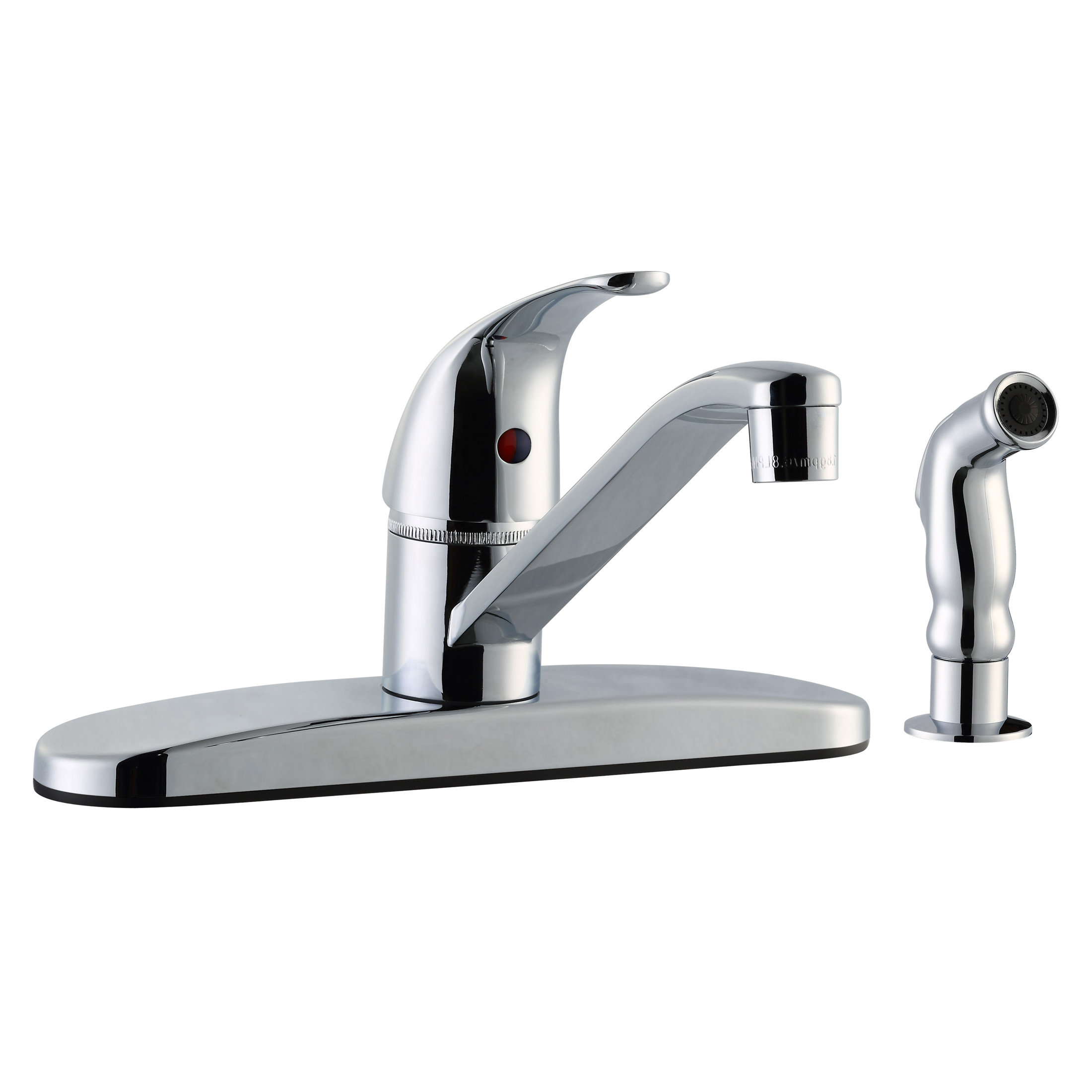 Middleton Kitchen Faucet With Sidesprayer 545863 | Plumbing ...