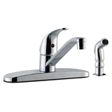 Middleton Kitchen Faucet With Sidesprayer, Polished Chrome #545863