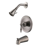 Saratoga Tub & Shower Faucet, Satin Nickel #546051