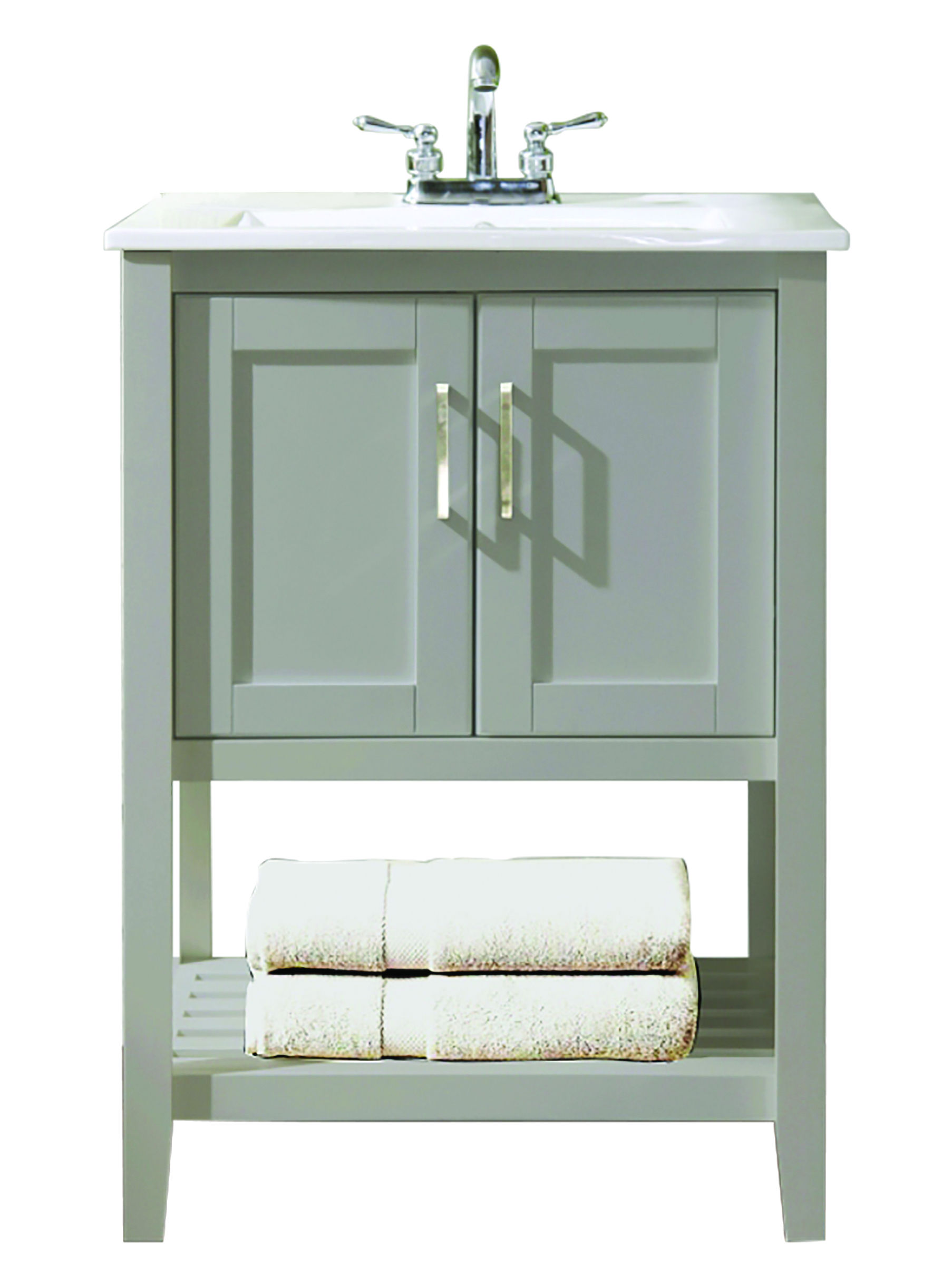 24 X18 X34 Dove Grey Vanity 546846 Bath Furniture Design House