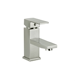 Design House Karsen Single Handle Lavatory Faucet, Satin Nickel Finish #547596