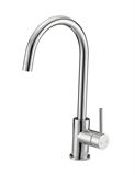Eastport Single Handle Kitchen Faucet, Polished Chrome #547695