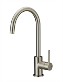 Eastport Single Handle Kitchen Faucet, Satin Nickel Finish #547737