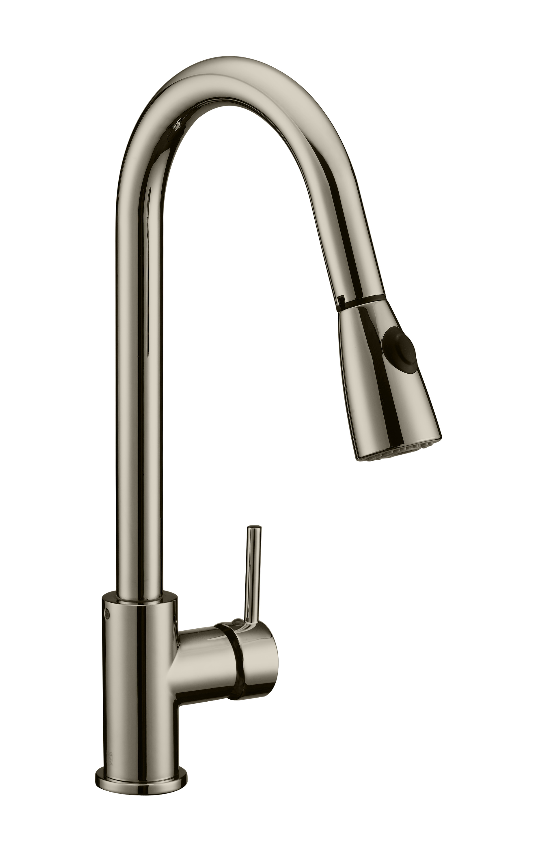 eastport single handle pull down kitchen faucet satin nickel 547851
