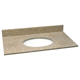 61X22 Golden Sand Granite Top