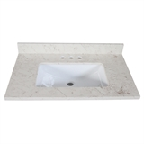 "25"" Quartz Vanity Top. Giallo #556985"