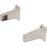 "5/8"" Bar Bracket, Satin Nickel #559955"