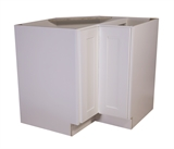 "Brookings 36"" Lazy Susan Cabinet, White Shaker #561431"