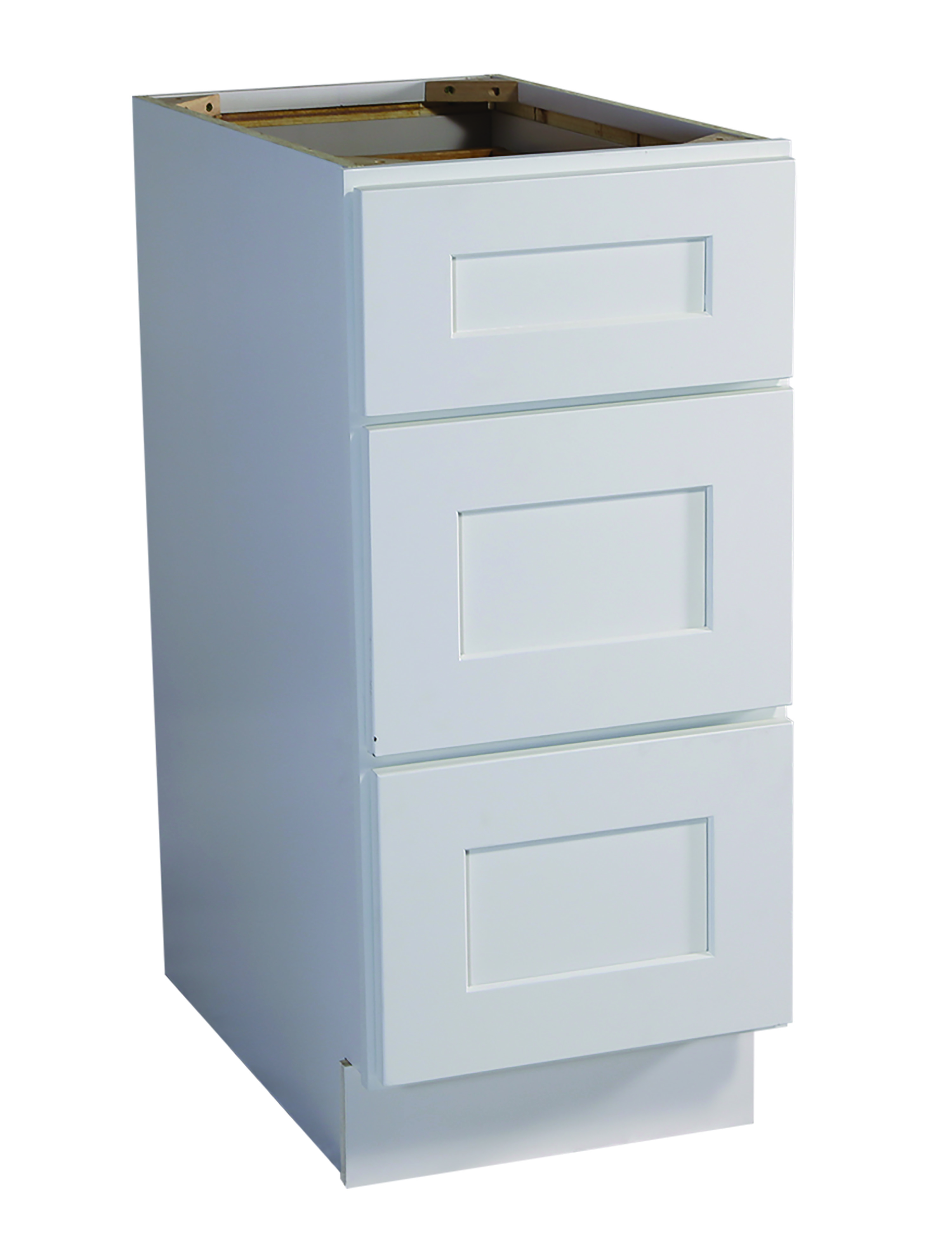 Brookings quot drawer base cabinet white shaker