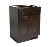 "Brookings 24"" Base Cabinet, Espresso Shaker #561951"