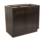 "Brookings 48"" Base Cabinet, Espresso Shaker #562017"