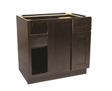 "Brookings 36"" Blind Base Cabinet, Espresso Shaker #562116"