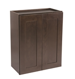 "Brookings 24"" Wall Cabinet, Espresso Shaker #562165"
