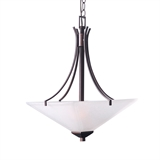 Torino 2-Light Pendant, Brushed Bronze #577379